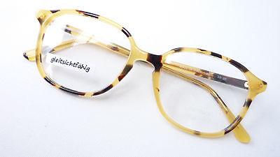 Markenfassung Leo Optik Brille Große Panto Gestell Unisex Gambini Frame Size M
