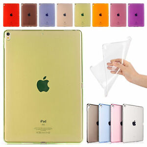 For-iPad-Mini-5-7-9-039-039-2019-Pro-11-034-Crystal-TPU-Clear-Soft-Rubber-Back-Case-Cover