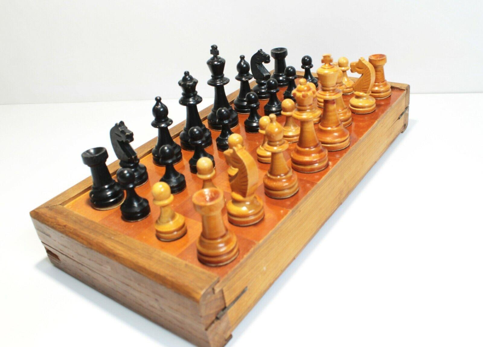 Old Soviet  Chess fin 1930-début 1940 S.  Envoi gratuit pour toutes les commandes