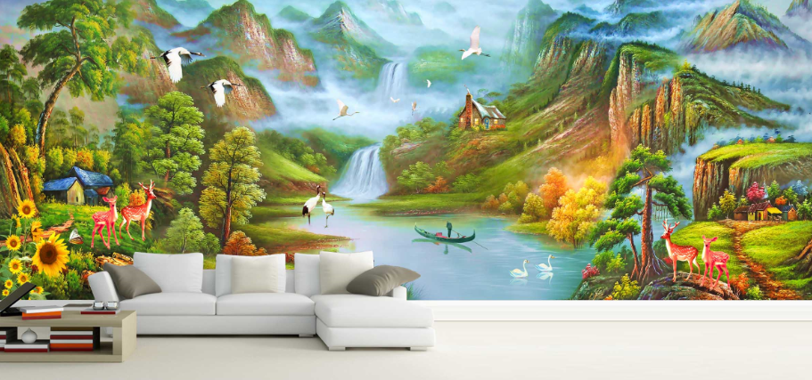 3D Fairyland World 75  Wall Paper Murals Wall Print Wall Wallpaper Mural AU Kyra