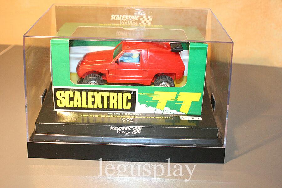 Slot SCX Scalextric 6346 Mitsubishi Pajero TT Rot Vintage - limitierte ed