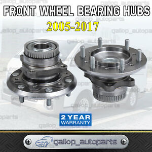 For-Toyota-Hiace-Front-Wheel-Bearing-Hub-Assembly-x2-Commuter-KDH200R-223-TRH201
