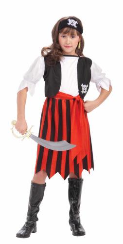 Child Pirate Lass Swashbuckler Buccaneer Costume