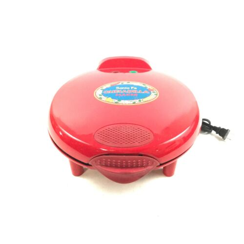 Santa Fe Quesadilla Maker QM2R Red Color 8.B6