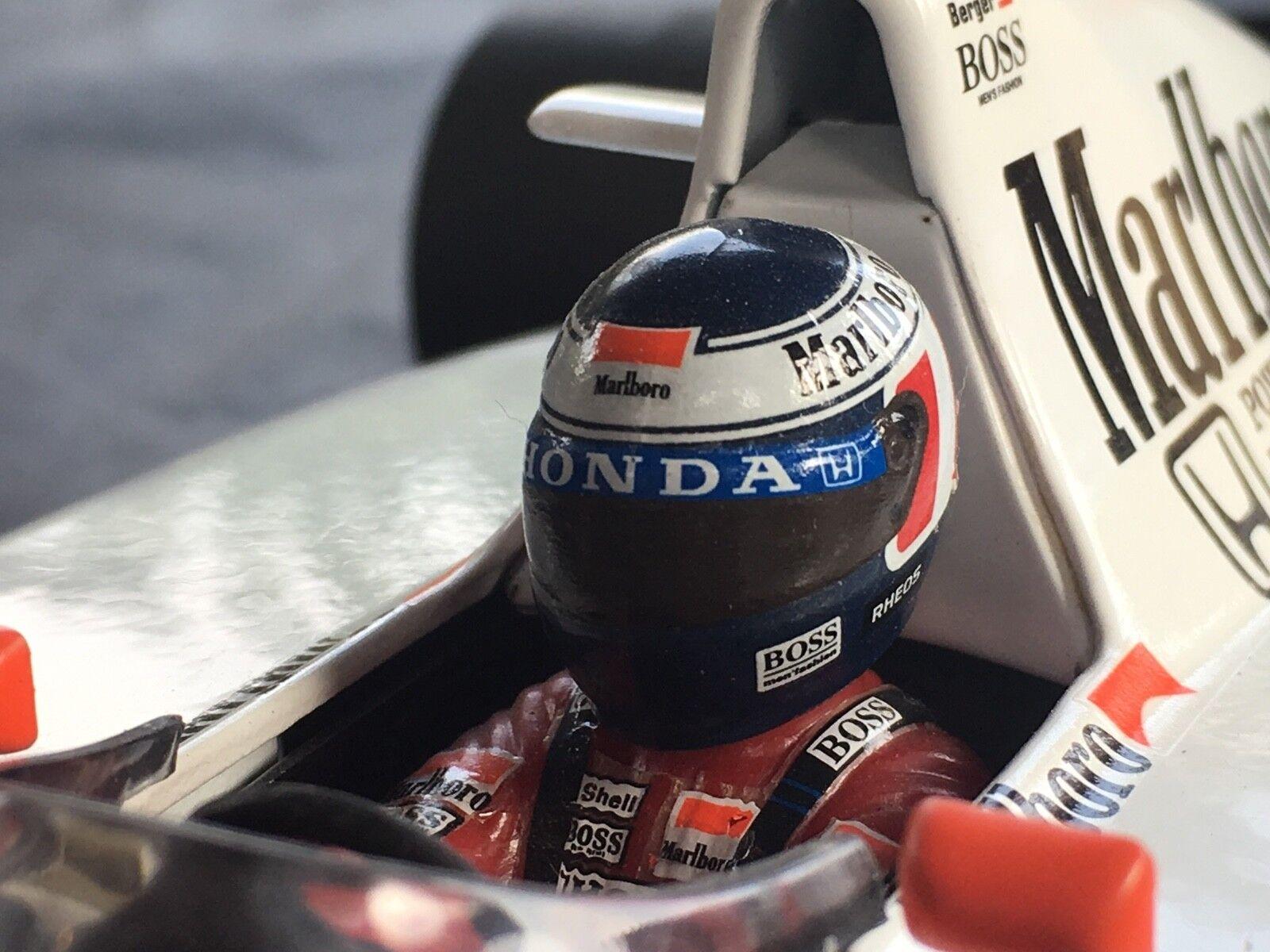 L'achat en deux parties est poli, très très très satisfait 1:18 Minichamps McLaren MP4/6 Gerhard BERGER 1991 | Un Approvisionnement Suffisant  07a79f