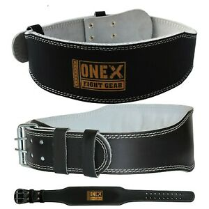 Weight-Lifting-Leather-Belt-Lower-Back-rib-Hook-Strap-Gym-Training-Fitness-Belts