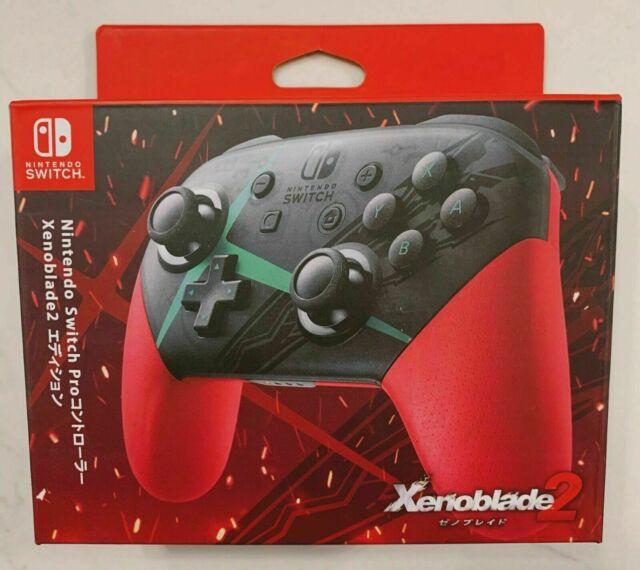 Original Nintendo Switch Pro Controller Xenoblade Chronicles 2 New