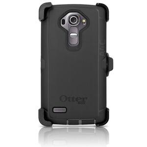 OtterBox-Defender-LG-G4-Case-amp-Holster-Clip-Black-Cover-OEM-New-Original