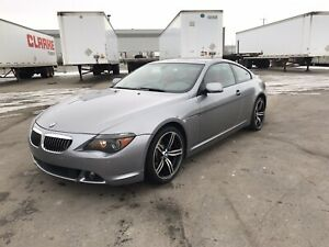 2004 BMW 645ci (comes with extra set of rims/tires)