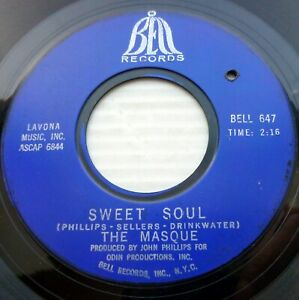 Details about THE MASQUE garage rock soul 45 BLACK IS BLACK strong vg Los  Bravos cover CT2445