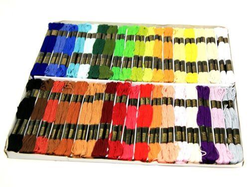 36 por paquete de.. Hilo de bordar sedas Hilo Dental Trebla Pack Surtido Colores