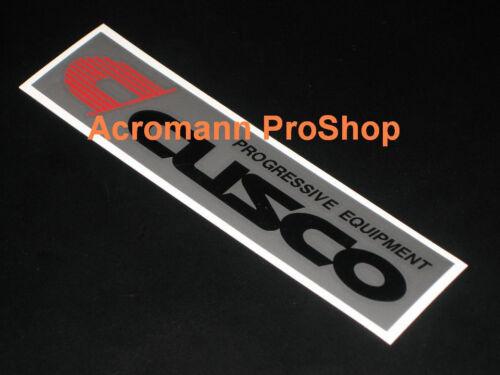 "2x 6/"" 15.2cm Cusco sticker decal JDM for atenza protege 5 lancer eclipse BRZ 86"