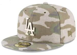 Official MLB Los Angeles Dodgers Antique Camo New Era 59FIFTY Fitted ... f2072d772ec