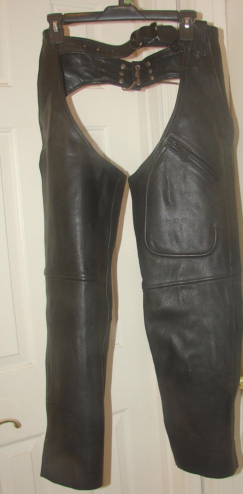 Milwaukee Leather by Shaf Ladies Chaps Size XXS