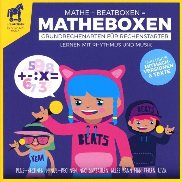 EDUARTISTS - MATHEBOXEN (GRUNDRECHENARTEN FÜR MATHESTARTER) CD NEW!