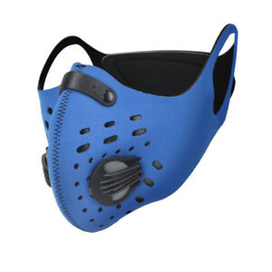 Rockbros Cycling Outdoor Anti-dust Half Face Mask Filter Neoprene Valve One Size Ideal Gift For All Occasions Cycling Cycling Clothing