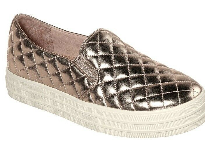 Skechers Damenschuhe Rose Gold Double Up Duvet Uk 7