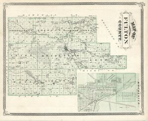 1876 State of INDIANA:: FULTON County