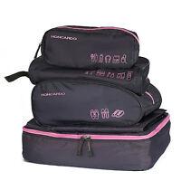 5pcs Travel Luggage Organizer Set Waterproof Packing Cubes Storage Bags
