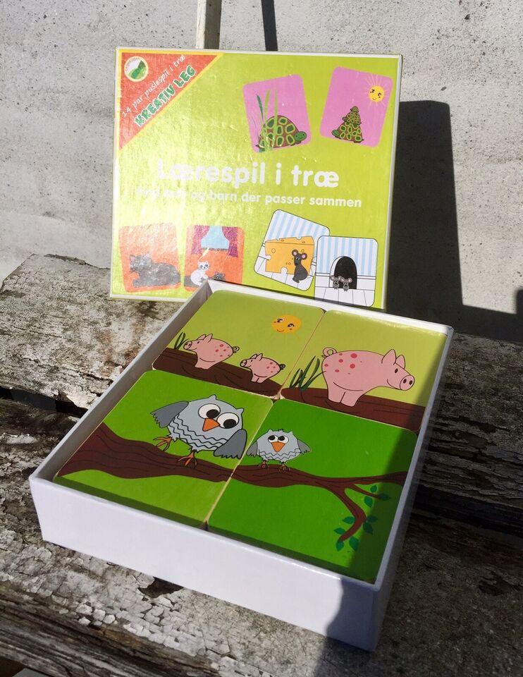 Lærespil i træ, Puslespil til de mindste, puslespil