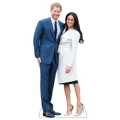 H10144 Prince Harry and Meghan Cardboard Cutout Standup