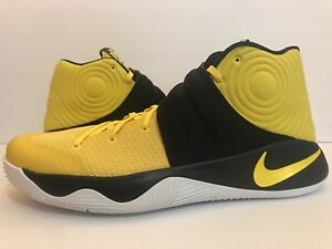 official photos 75f75 ac725 Image is loading Nike-Kyrie-Irving-ll-Australia-Tour-Yellow-Black-