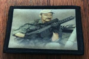 Tremors-Movie-Burt-Gummer-Morale-Patch-Military-Tactical-Army-Flag-Badge-Hook