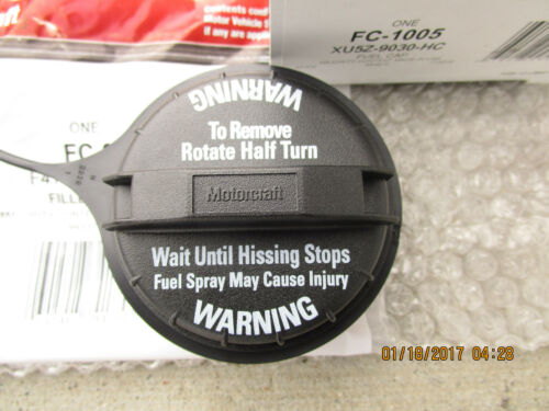 97-99 FORD ECONOLINE FUEL GAS TANK FILLER CAP WITH TETHER OEM BRAND NEW