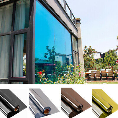 Home tint Window Film Mirrored Reflective Decorative House Glass StickerHOHOFILM
