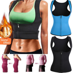 678f5afc684 HOT Thermo Body Shaper Sauna Vest Women Waist Trainer Neoprene ...