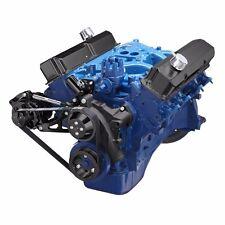 Black Ford FE Engine Serpentine Pulley Conversion Kit 390 427 Alternator Only
