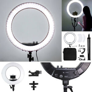 Image is loading 18-034-LED-Photography-Ring-Light-Dimmable-5500K-  sc 1 st  eBay : ebay lighting - azcodes.com