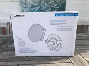 Bose Virtually Invisible 791 II In-Ceiling Speaker Series II ( Pair, White) New