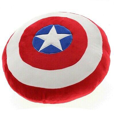 Brioso Cuscino Bassetti Scudo Marvel Avengers Capitan America Sagomato Rotondo Ad Ogni Costo