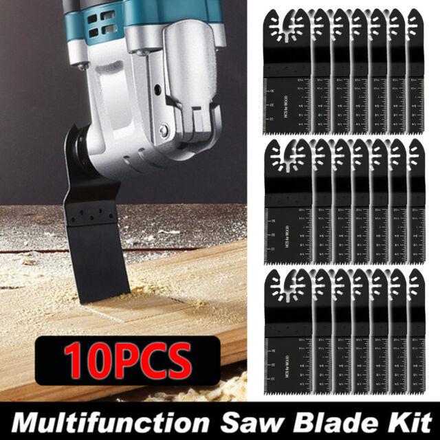 10X Oscillating Multi Tool Mix Saw Blade For Fein Bosch Multimaster Makita Bosch
