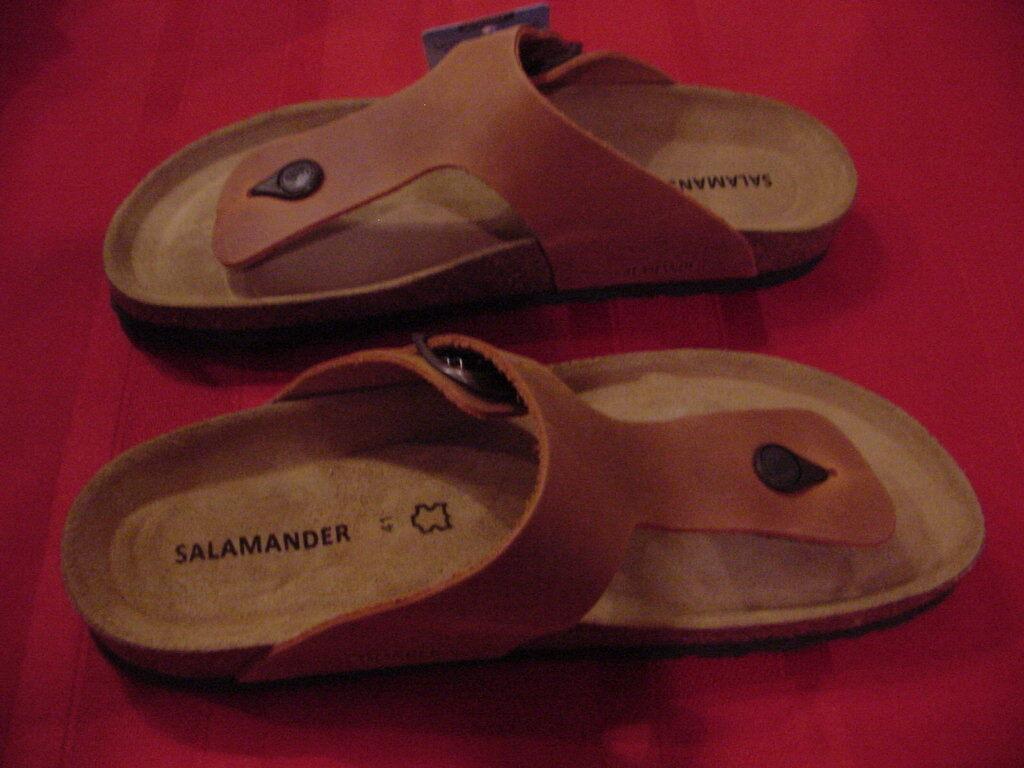 Salamander  Balbao/Ramses   L  41  L  10 M 8  Oiled Leder Cognac 347d93