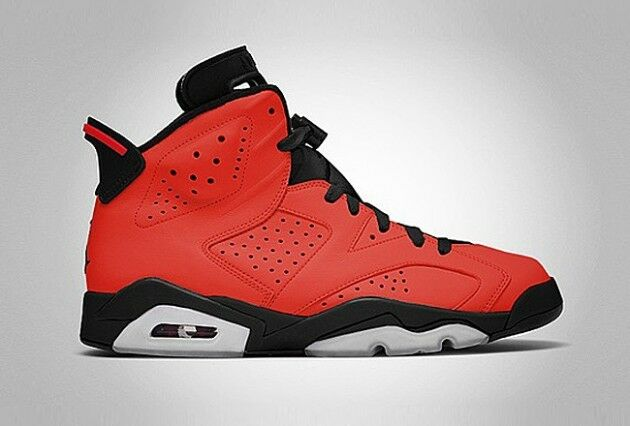 NIKE AIR JORDAN VI 6 TORO US 7 8 9 10 11 12 13 2018 RETRO RED INFRARED BLACK DMP The most popular shoes for men and women