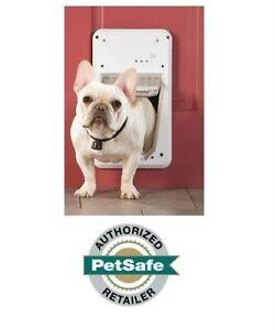 Petsafe smartdoor smart door electronic pet door ebay for Smart dog door for wall