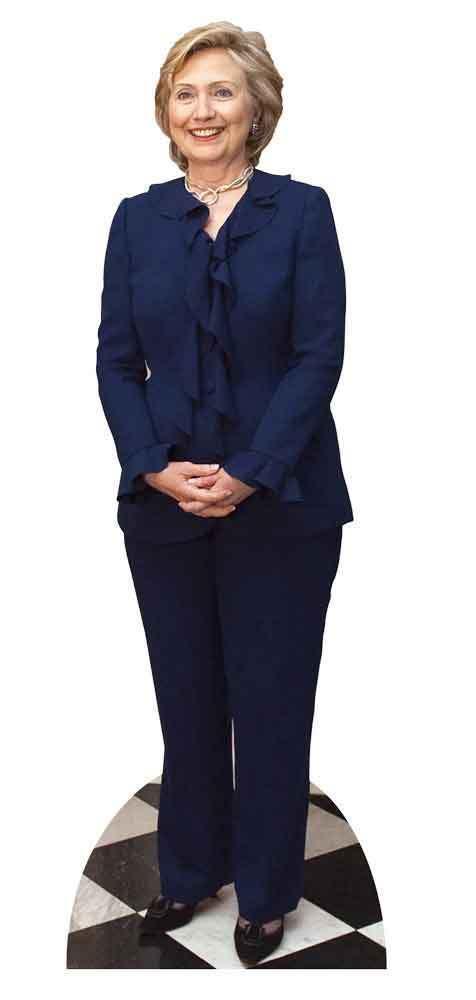 Hillary Clinton USA Politico Grandezza Naturale Sagoma di Cartone   Stand Up