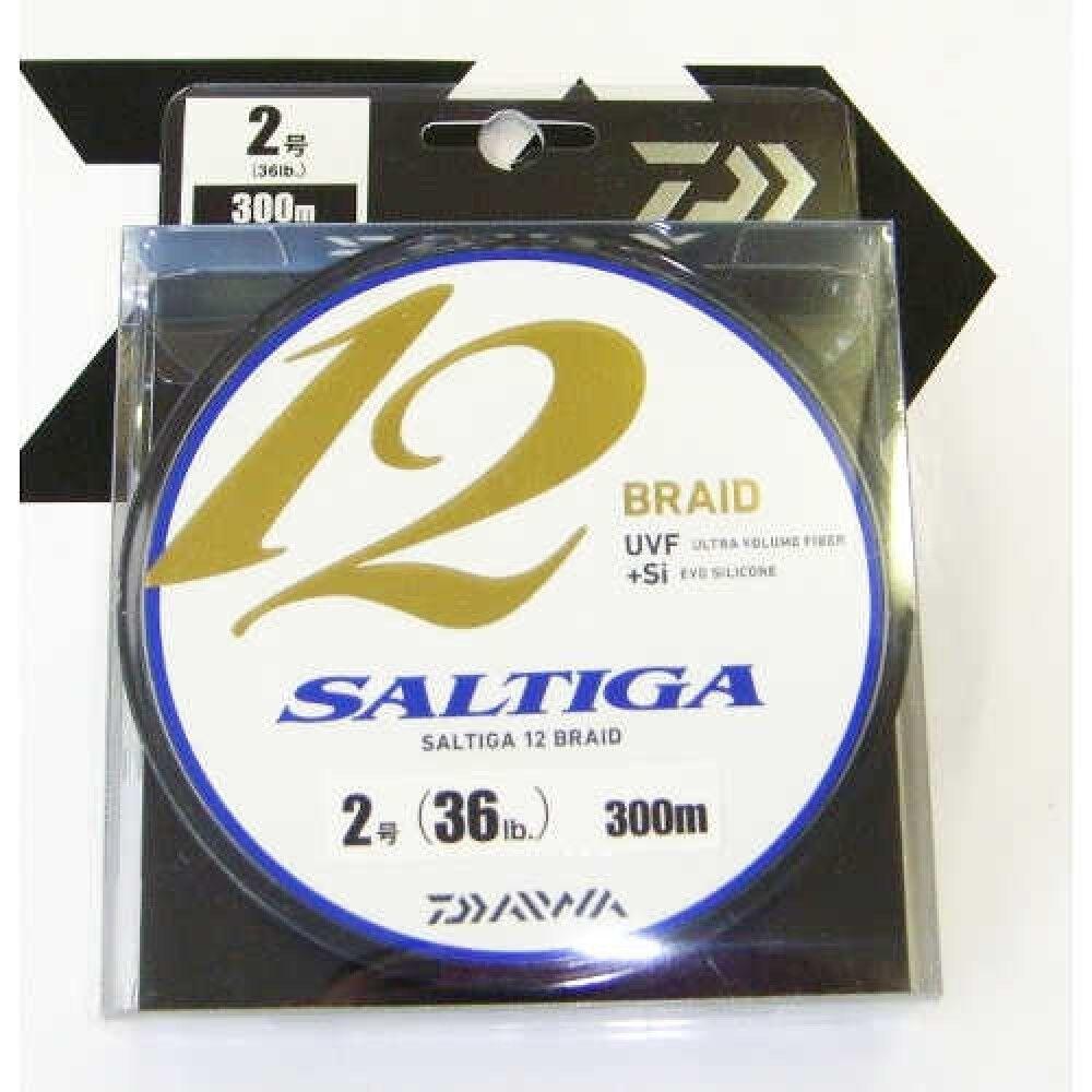 Daiwa Pe Saltiga 12 Intrecciato 300m 2 16.3kg Ultra Volume Cinque Sterline