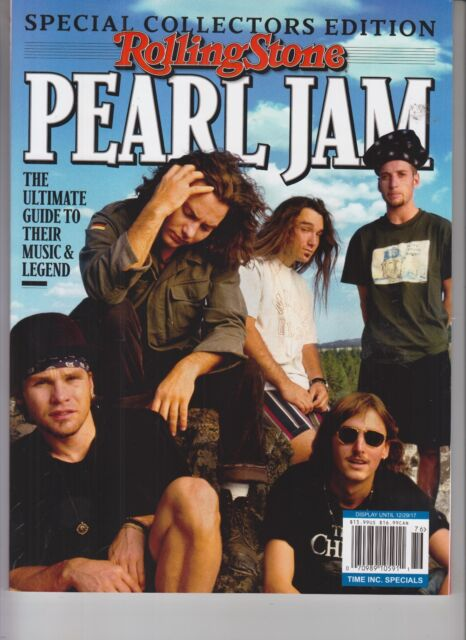 Pearl Jam Rolling Stone Ultimate Guide Spec Collectors