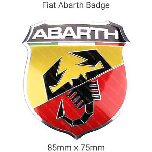 Genuine Fiat 500 Front Grille Abarth Badge | eBay