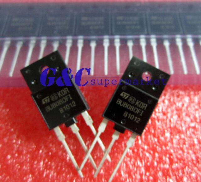 50PCS 100/% ORIGINA BU808DFI IC TRANSISTR DARL NPN ISOWATT218 NEW