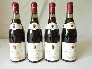 4-Bouteilles-de-vin-rouge-Nuits-Saint-Georges-Emile-Chandesais-1975