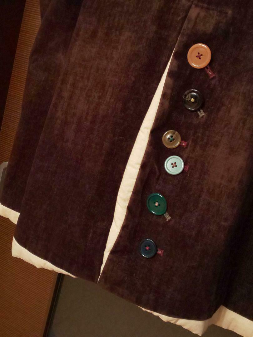 UNDERCOVER but beautiful Button Coat size M Brown… - image 7