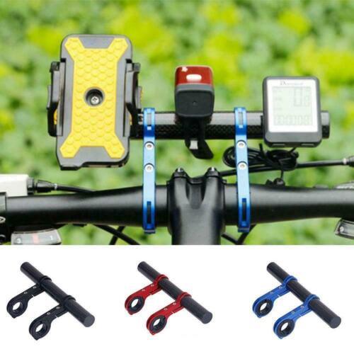 Bike Flashlight Holder Handle Bar Extender Mount Bracket Bicycle Accessorie J3L2