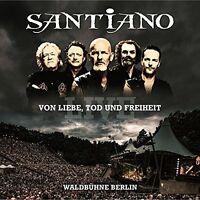 2 CDs * SANTIANO - Von Liebe Tod und Freiheit  Live # NEU OVP !