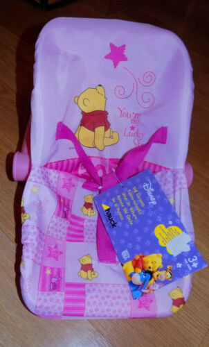 "NEW Disney Hauck Winnie-the-Pooh Doll Carrier Seat Carrier For 16/"" /& Smaller"