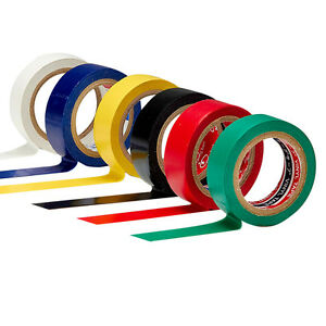 High Quality PVC Electricians Electrical Insulation Tape Random Color 16mmx10M