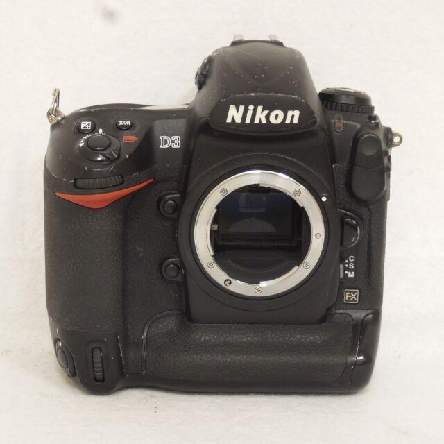 Nikon D3 12.1MP Digital SLR Camera Body Only Black 25434 FREE SHIPPING